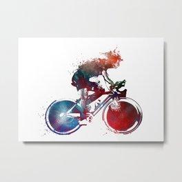cyclist 2 #sport #cyclist Metal Print