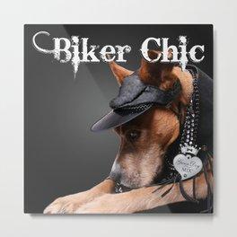 Biker Chic Metal Print