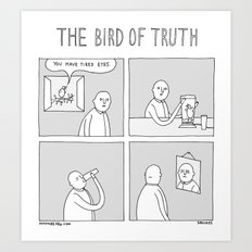 Moonbeard - The Bird of Truth Art Print