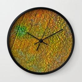 Ammolite Wall Clock