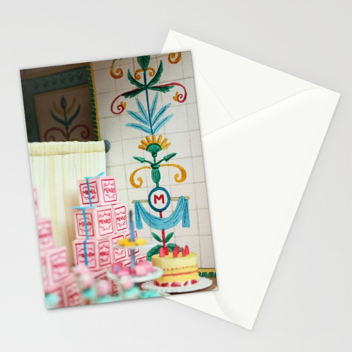 Mendl's 2 Stationery Cards