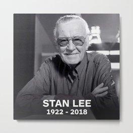 Stan Lee 1922-2018 Metal Print