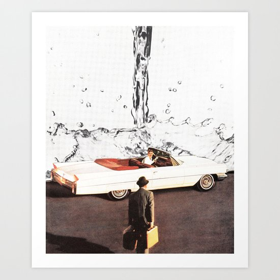 Drive It All Over Me Art Print