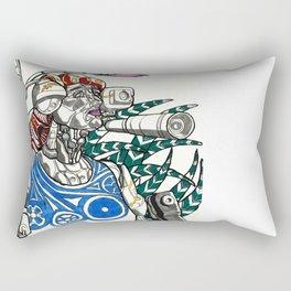 Profile Pic of Sarah Bernhardt Rectangular Pillow