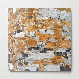 Italy: Sassi Texture - Matera  Metal Print