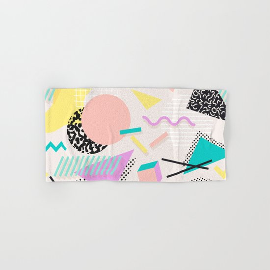 Colorful Chaos Hand & Bath Towel