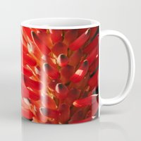 neon Mugs featuring Neon by Mary Curtis