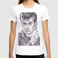 david tennant T-shirts featuring David Tennant as Doctor Who by Kate Murray