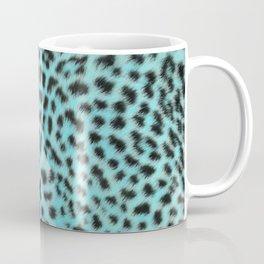 Turquoise leopard print Coffee Mug
