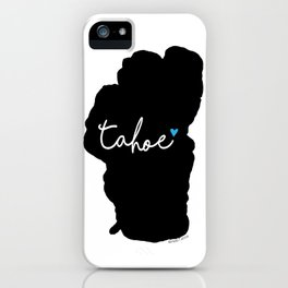 Black is the New Blue iPhone Case