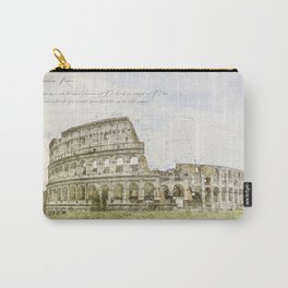 Colosseum, Rome Italy Carry-All Pouch
