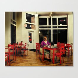 In the Style of...Edward Hopper Canvas Print