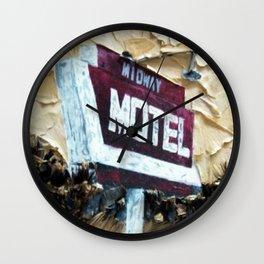 Midway Motel Wall Clock