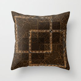 Abstract grunge background. Throw Pillow