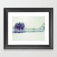 Mirror Lake Framed Art Print
