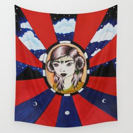 Psychic Vision Wall Tapestry