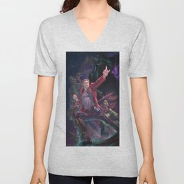Guardians Of The Galaxy Unisex V-Neck