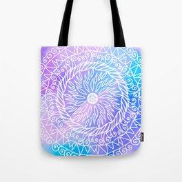 Pastel Mandala Tote Bag