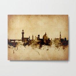 Florence Italy Skyline Metal Print