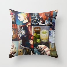 Closing time, last call Throw Pillow