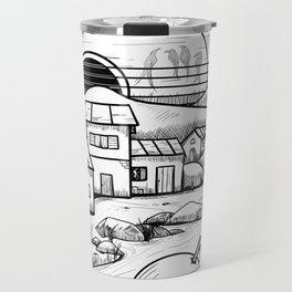 Music and Nature Travel Mug