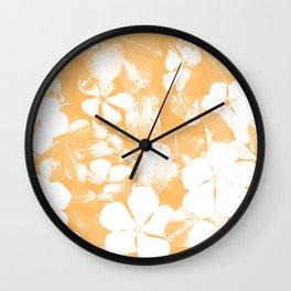 Orange Has It! Wall Clock