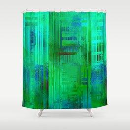 SchematicPrismatic 04 Shower Curtain