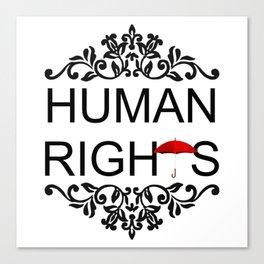 Human Rights Canvas Print