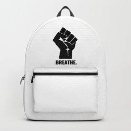 Breathe Black Lives Matter George Floyd Backpack