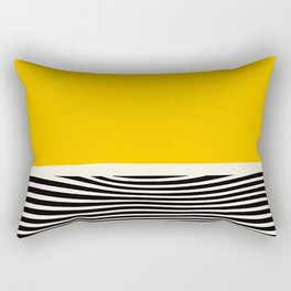 Abstract Optical Illusion Art Rectangular Pillow