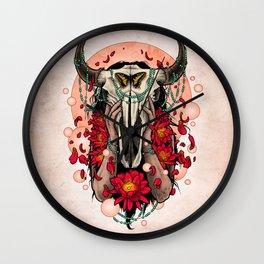 Buffalo Girl Wall Clock