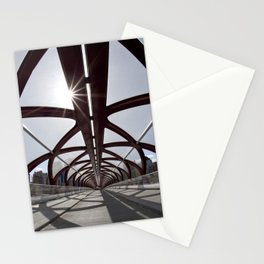 Calgary Peace Bridge; great Architecture Stationery Cards
