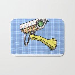 Security Camera Bath Mat