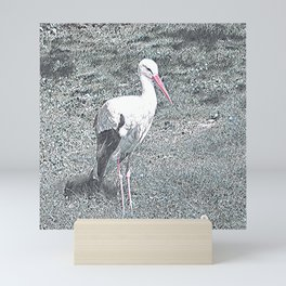 Animal ArtStudio 1419 Stork Mini Art Print