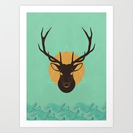 Skull 10 Art Print