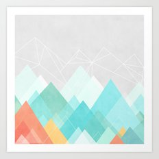 Graphic 120 Art Print