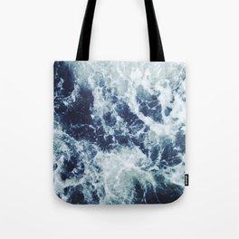 Dark blue Ocean Tote Bag