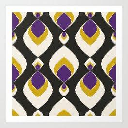 "Abstract pattern "" Carnival "". Art Print"