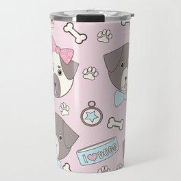 Kawaii Doggos Travel Mug