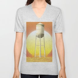 Old watertower Unisex V-Neck