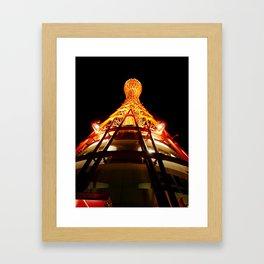 The towering feeling Framed Art Print