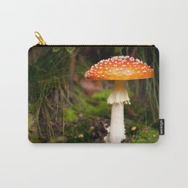mushroom in autumn Carry-All Pouch
