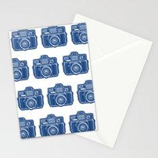 I Still Shoot Film Holga Logo - Blue Stationery Cards