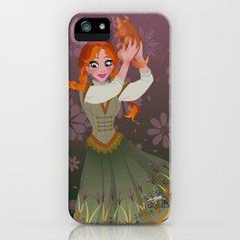 Frozen Anna Casual iPhone Case