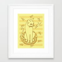 friendship Framed Art Prints featuring Friendship by Sarinya  Withaya