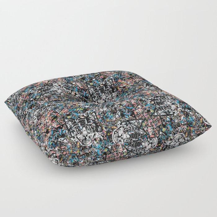 The Creative Cat (color varient) Floor Pillow