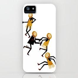 Lindy Hop Dancers iPhone Case