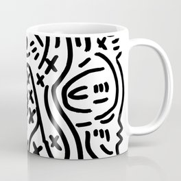 Graffiti Street Art Black and White Coffee Mug