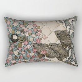 predator/prey Rectangular Pillow
