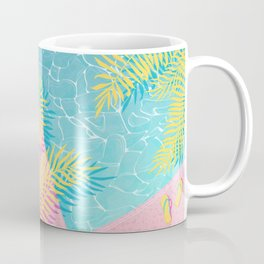 Tropical pool chill Coffee Mug